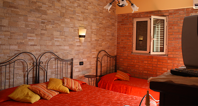 stanza tripla bed and breakfast